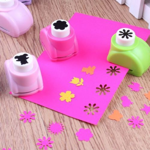 1 PCS Kid Child Mini Printing Paper Hand Shaper Scrapbook Tags Cards Craft DIY Punch Cutter Tool 16 Styles(China (Mainland))
