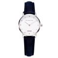 VH London Brand Women Dress Quartz Watch With Strass Simple Ladies Wrist Watches Genuine Leather Band