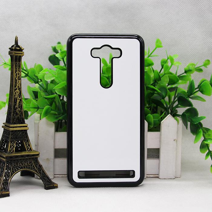 2D 3 color DIY Sublimation Heat Press PC cover case Metal Aluminium plates for ASUS ZenFone 2 Laser ZE550KL   100ps/lot