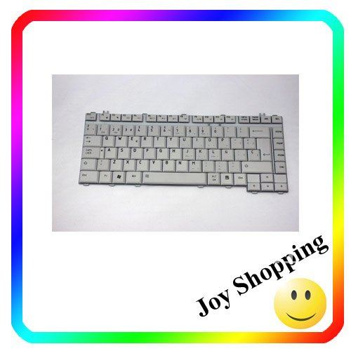 Free shipping:New original grey colour SP Laptop keyboard for Toshiba Satellite A200 series laptop keyboard(China (Mainland))