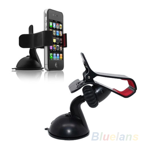 Car Stick Windshield Mount Stand Holder for Cellphone Mobile Phone GPS Universal 01PO 2N8N(China (Mainland))