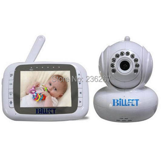 new wireless lcd baby monitor tft pan tilt ptz zoom monitors baby lullaby smart talking. Black Bedroom Furniture Sets. Home Design Ideas
