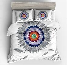 Nowa Luksusowa moda Czechy Styl Tekstylne Ochraniacz poduszki czerwony niebieski Biały Powrót rozmiar twin pełna królowa król dobrej jakości pościel(China)