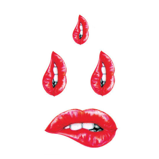 2016 New Lip Water Transfer Waterproof Temporary Tattoo Sticker Body Art Sexy Product