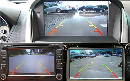 Color CCD Sony Chip Night Vision Auto Reversing Parking System Car Rearview Backup Camera for Ssangyong New Actyon 2012 2013 201