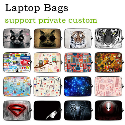 Personalized Netbook Laptop Sleeve Bag Case 7 9 10 12 13 13.3 14 15 15.6 17 17.3 inch Ultrabook Tablet Computer Customizable - 3C Dropshipping Center store