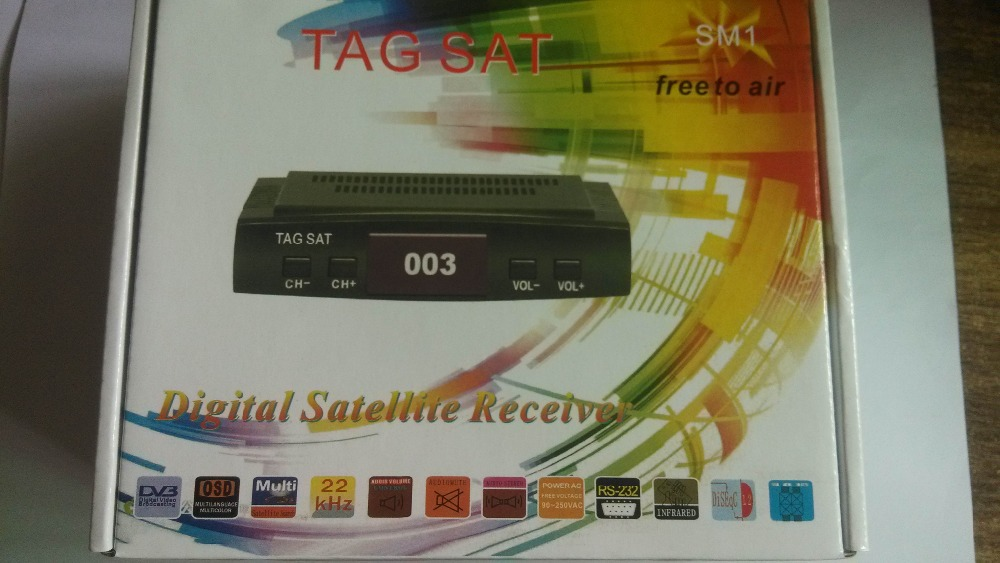 MINI A7 DIGITAL SATELLITE RECEIVER DVB-S2/S FTA set-top box TAG free press(China (Mainland))