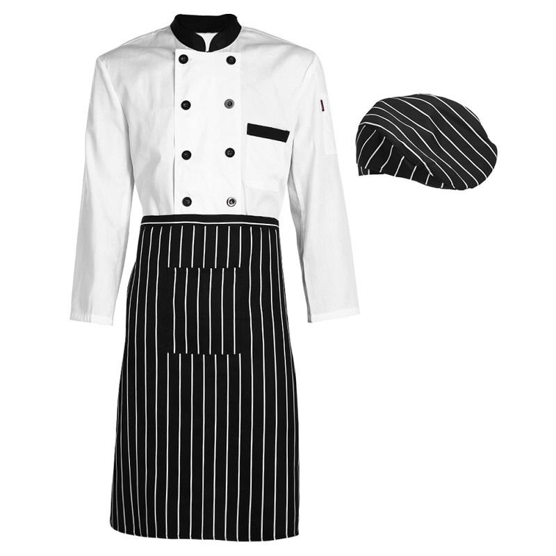 Compra cocina chef uniforme online al por mayor de china - Uniformes de cocina ...
