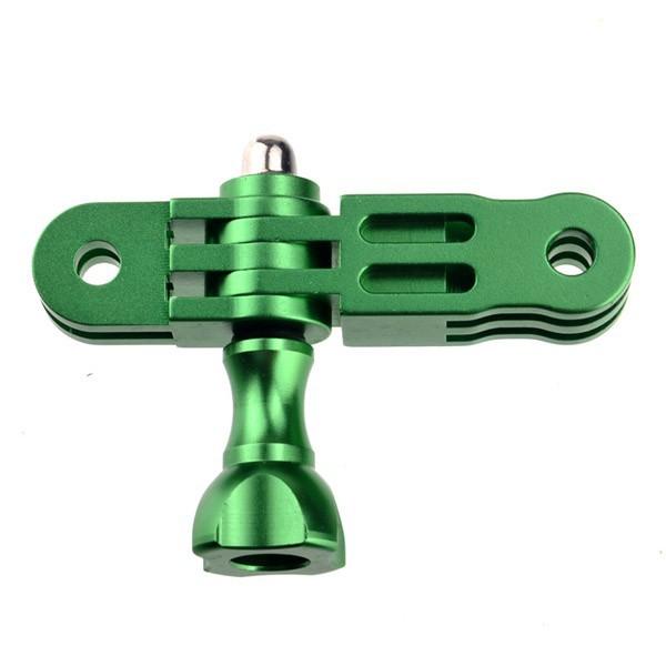 Зеленый cnc алюминий гора 3-way сводной руку и ручки винт гайка для мини видео камеры gopro hero 2 3 /m0057