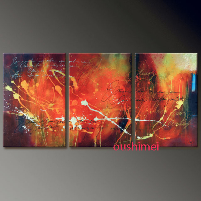 Buy Handmade 3 Piece Abstract Landscape
