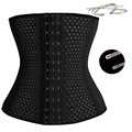 Women Hot Body Shaper Slimming Three Breasted Waist Tummy Belt Waist Cincher Underbust Control Corset Waist