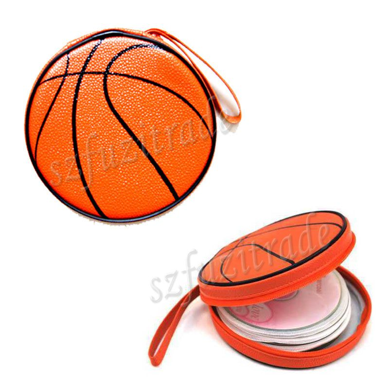 24 PCS Fashion Basketball CD Case Bag Wallet DVD Box Holder For Home Storage Case For CDs -50(China (Mainland))