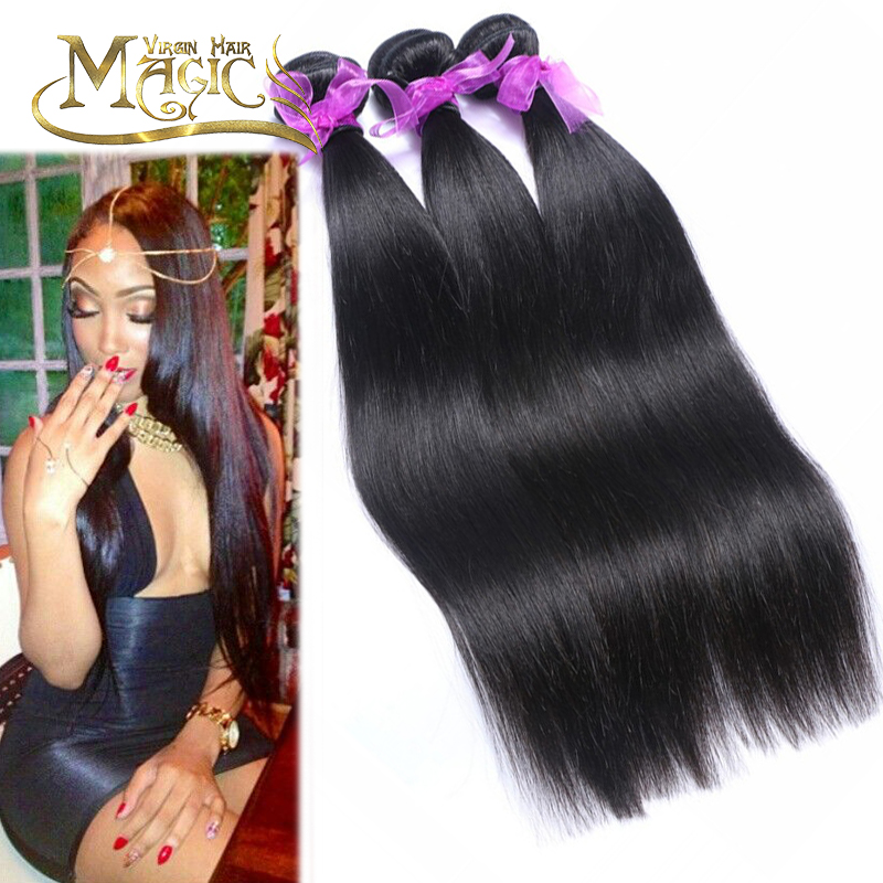 100 Percent Malaysian Human Hair Weave Bundle Raw Virgin Silky Straight Hair Natural Black Malaysian Virgin Hair Straight<br>