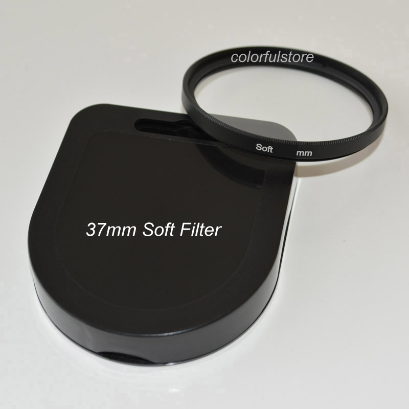 37mm 37 mm Circular Haze Soft Filter SF Focus Diffuser Effect Camera Lens Filters For Canon Nikon Sony Pentax Olympus SLR Lenses(China (Mainland))