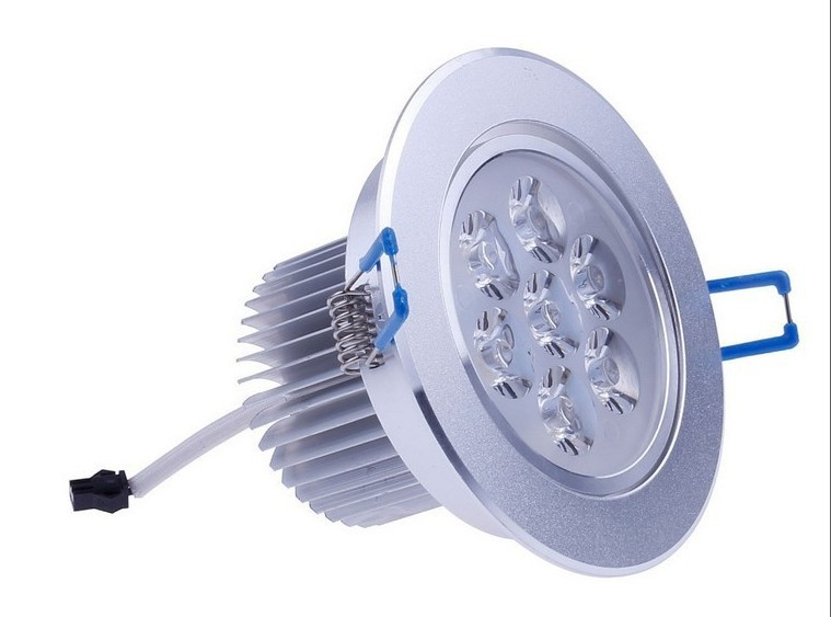 Aliexpress.com : Buy 7x3W 21W LED Ceiling downlight Dimmable lamp Recessed Cabinet Wall light ...
