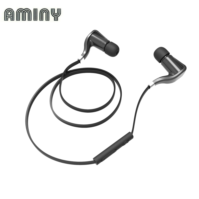 Aminy BH35 Bluetooth 4 1 Headset Wireless font b Sports b font Stereo font b Running