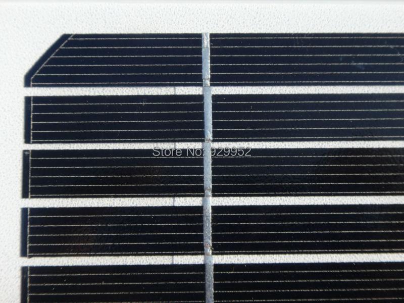 Hot Sale 2.5W 5V 500mA Monocrystalline silicon Epoxy Mini Solar Panel Solar Module System Solar cells Battery Phone charger
