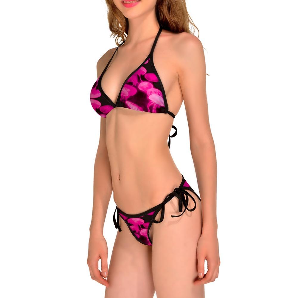 Nikki gauze bikini
