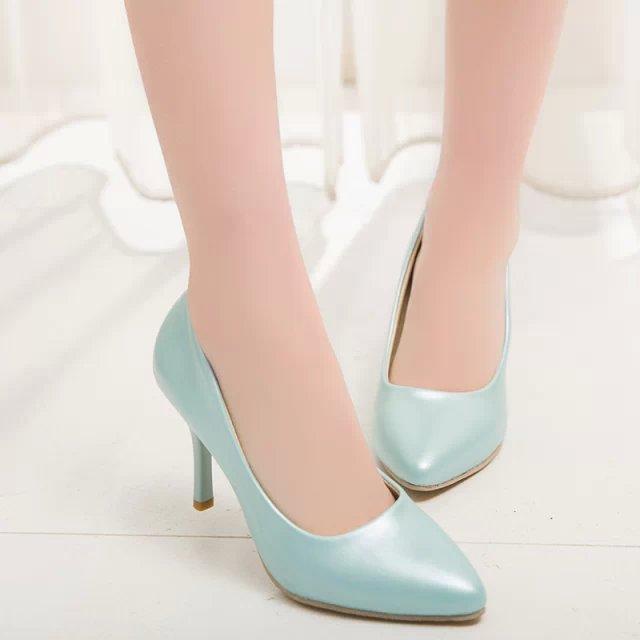 plus size 34 43 9 women shoes office high heels pumps. Black Bedroom Furniture Sets. Home Design Ideas