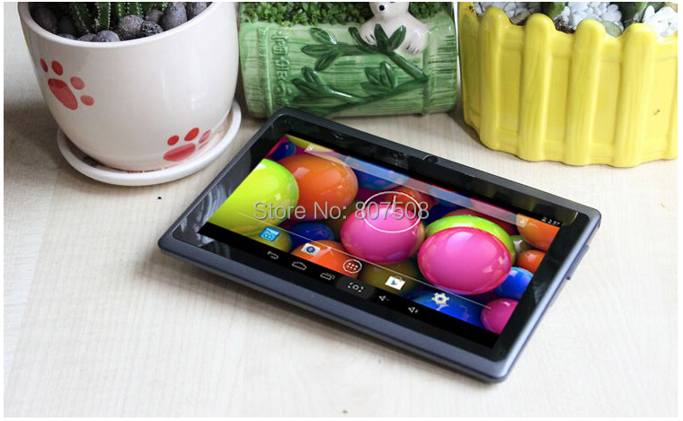 Q88 7 inch tablet pc Android 4 4 allwinner a33 Quad core 512MB 8GB wi fi