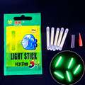 250pcs 50pack Fishing night sticks Lights Chemical Luminous Fishing Glow light Stick in Green Color fishing