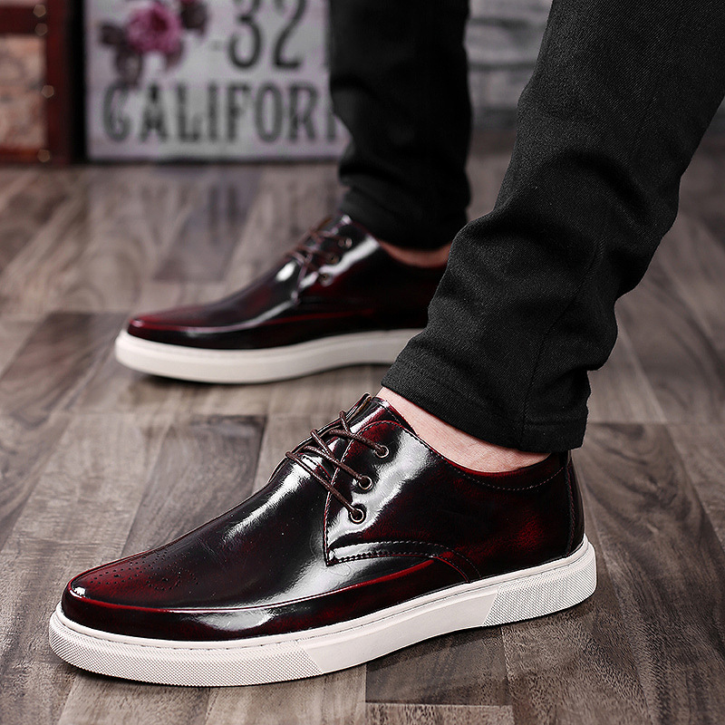 2016 Hot Sell Men Loafer Shoes Mens Fashion PU leather flat loafers Men Casual Driving Shoes Spring Casual Flats Men Loafers<br><br>Aliexpress