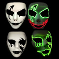 Glow Toy Mask Halloween Led Toys Party Items Children Flash Bright Kids Electronic Birthday Gifts Glow