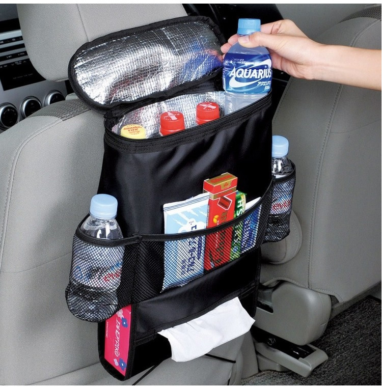 Black Car Insulated Food Storage Bags Organization Auto Interior Styling Wholesale Bulk Lots Accessories Supplies Products(China (Mainland))