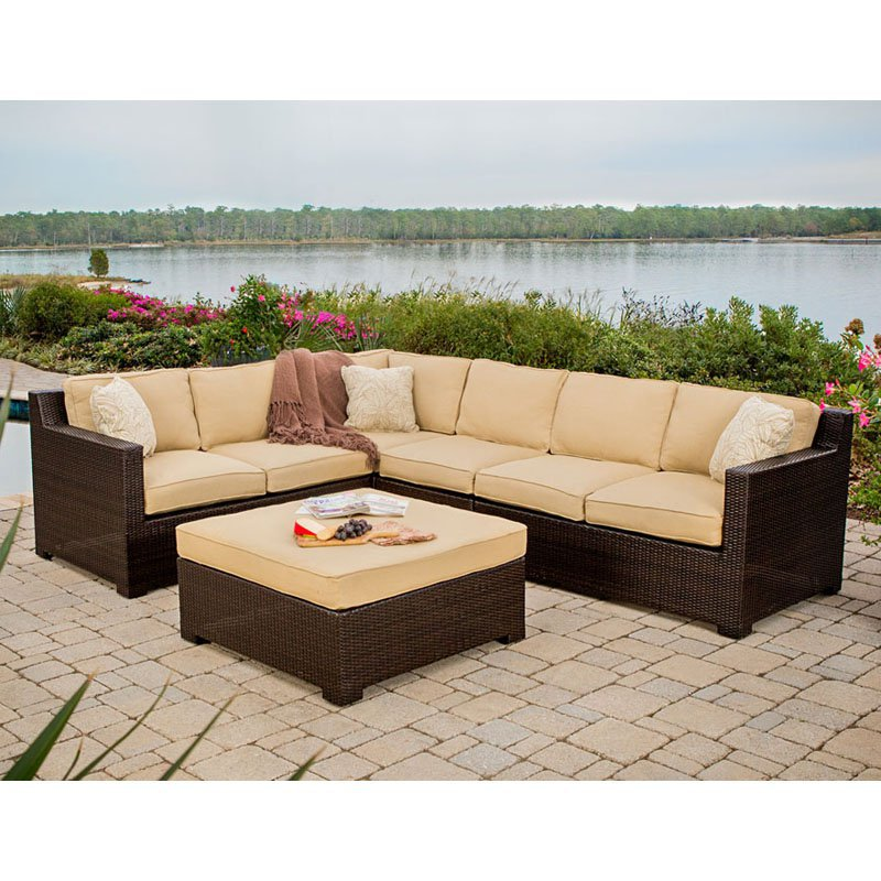 2016 Leisure Used Patio Rattan Furniture Philippines Corner Sofa In Rattan Wicker Sofas From