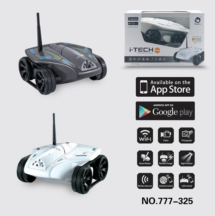 Free shipping 2015 new Wifi Controll rc toys with wifi Camera WIFI Tank for iPhone/ iPad/ iPod Tank rc car