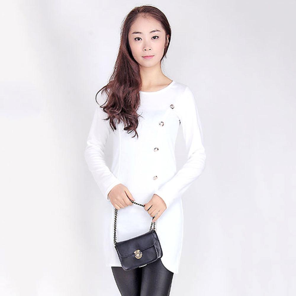 Popular Ladies Elegant Winter Long Sleeve Buttons Slim Hip Casual Autumn Dress Bodycon Dresses Women Work Wear OL Dress O-Neck(China (Mainland))