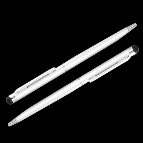 Promotion! 2 in 1 Metal Universal Ball Pen Touch Screen Stylus for ipad ipod<br><br>Aliexpress