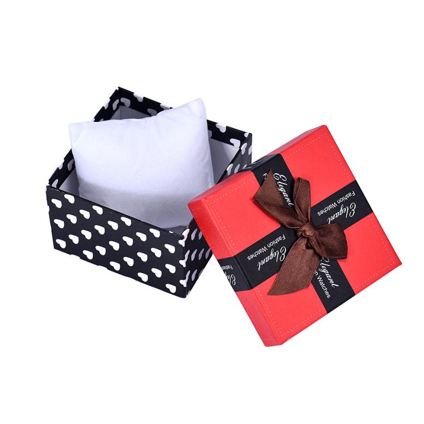 Prevalent Durable Present Gift Box Case 9cmX9cmX5.7cm For Bracelet Bangle Jewelry Watch Box Free Shipping Mar29(China (Mainland))