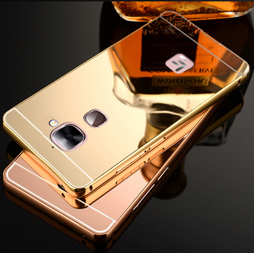 2pcs/lot,Luxury Aluminum Metal Mirror Case For Letv Le Max 2 Max2 X821 X820 Back Cover Brand New Ultra Thin Mobile Phone Case(China (Mainland))