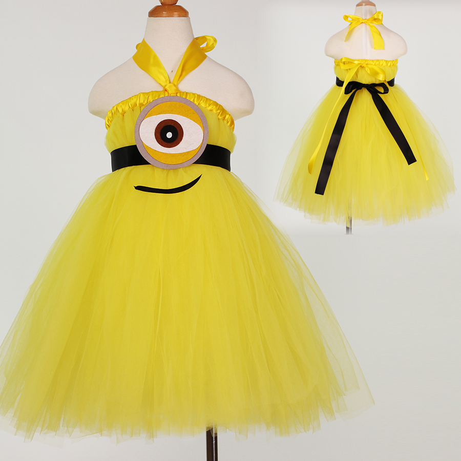 New Children Princess Tutu Dress Baby Girl Toddlers Pageant Birthday Halloween Dresses 2-12Y Fancy Cosplay Dress Costume(China (Mainland))