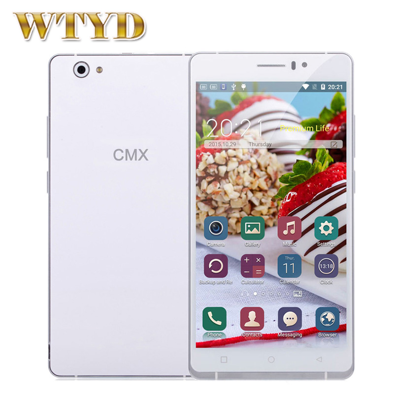 Original CMX C10 6'' Android 5.1 Smartphone MTK6580 Quad Core 1.3GHz ROM 8GB RAM 1GB GPS Dual SIM Standby GSM & WCDMA - Shenzhen WTYD Technology Limited store