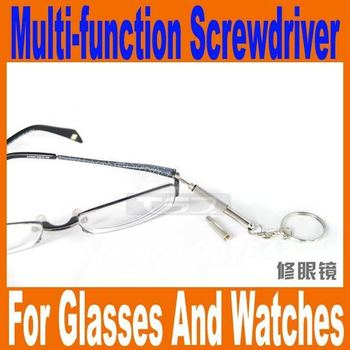 Free Shipping Professional Eyeglasses Multi-function Screwdriver Glasses Srewdriver Could Use For Mobile Phone Watch DIY Tool