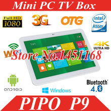 PC Pipo P9 3G Tablet PC RK3288 Quad Core 1.8GHz 10.1 inch IPS Retina 1920 x1200 2GB RAM 32GB ROM Android 4.4 GPS 8.0MP Camera(China (Mainland))