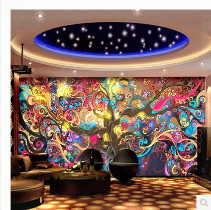 Classic Europe Larger Mural 3D Wall Paper Wallpaper Straw for Living Room 3D Geometry TV Background Wall Decor Sample 100*70cm l(China (Mainland))