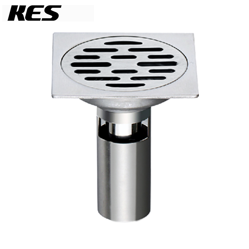 Bathroom Floor Drain Strainer : Aliexpress buy kes v a b square shower floor drain