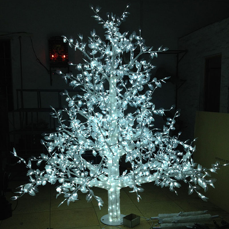 1 5meter 864led outdoor lighted artificial christmas trees. Black Bedroom Furniture Sets. Home Design Ideas