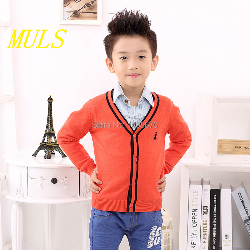 Children's Clothing cardigan Novelty Single Breasted boys sweater fashion kids clothes Limited-time package mail(China (Mainland))
