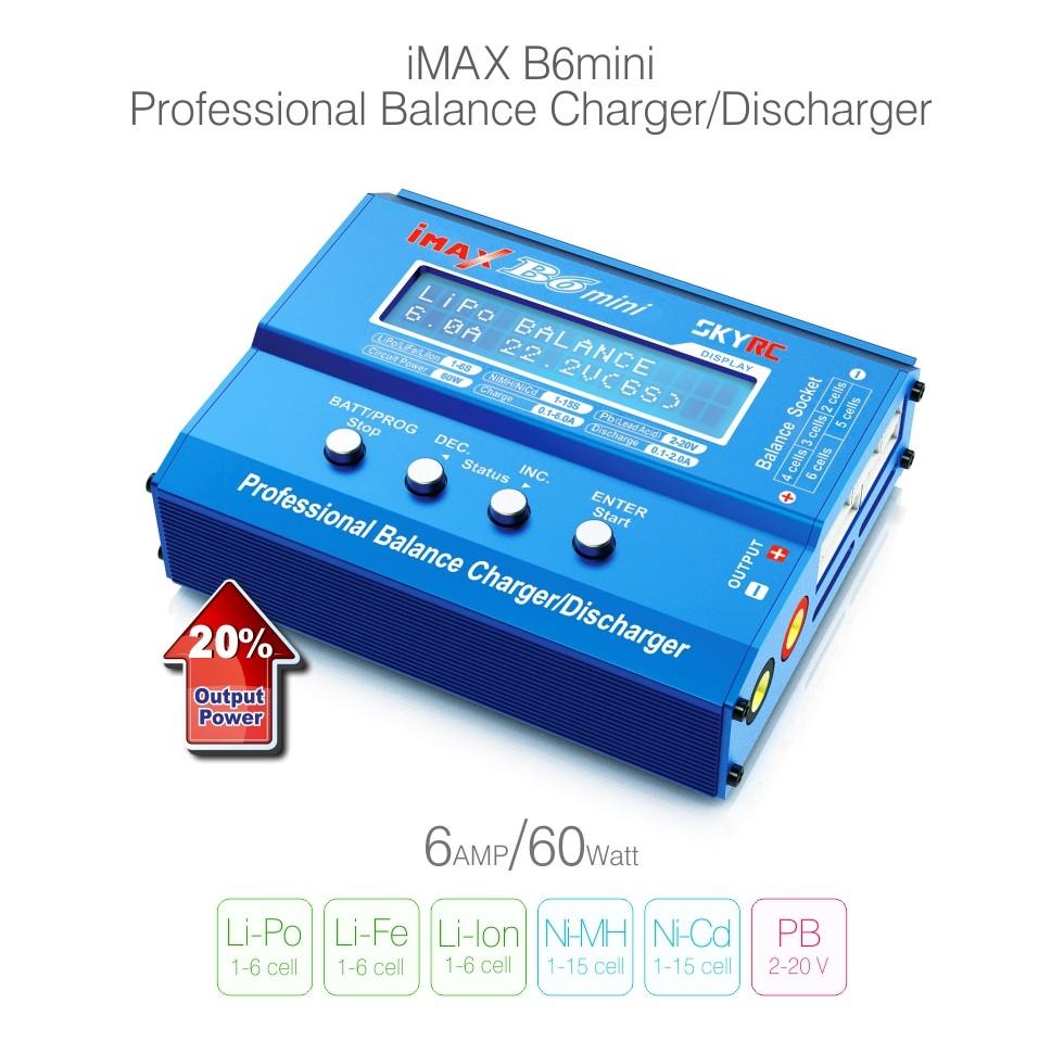 Original SKYRC IMAX B6AC V2 6A Lipo Battery Balance Charger LCD Display Discharger For RC Multirotor Aircraft Battery Hot Sales(China (Mainland))