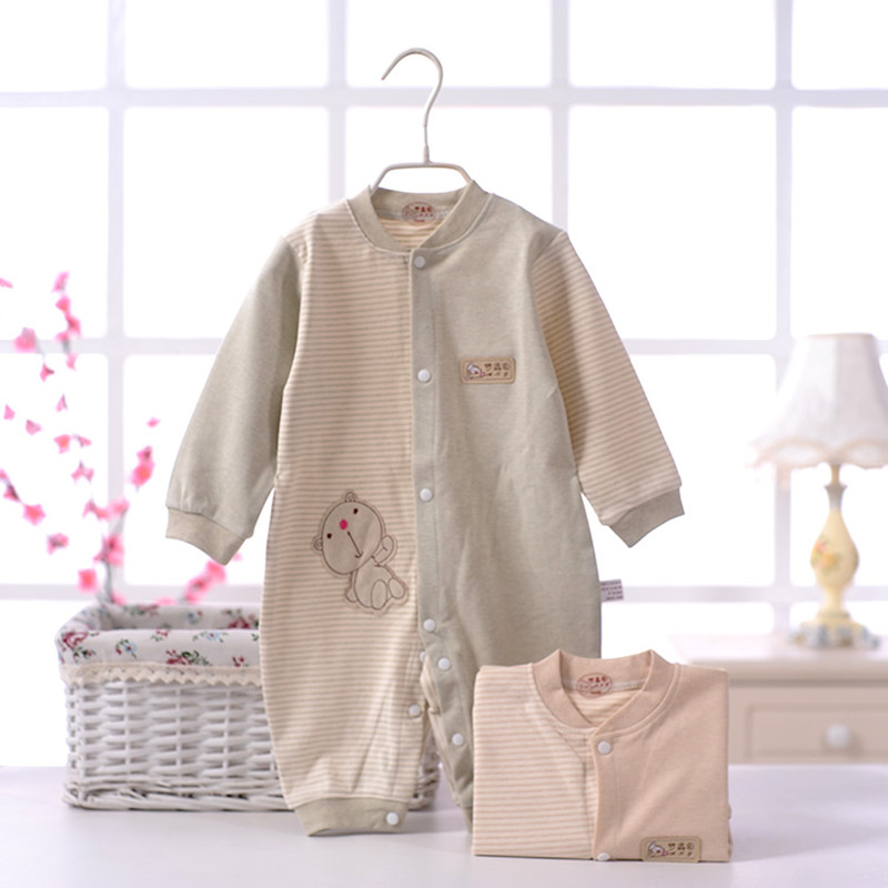 Newborn baby clothing Rompers Long Sleeve Soft Cotton