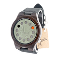 BOBO BIRD A03 B16 12holes Design Bamboo Wood Quartz Watches With Real Leather Straps Cool Brand