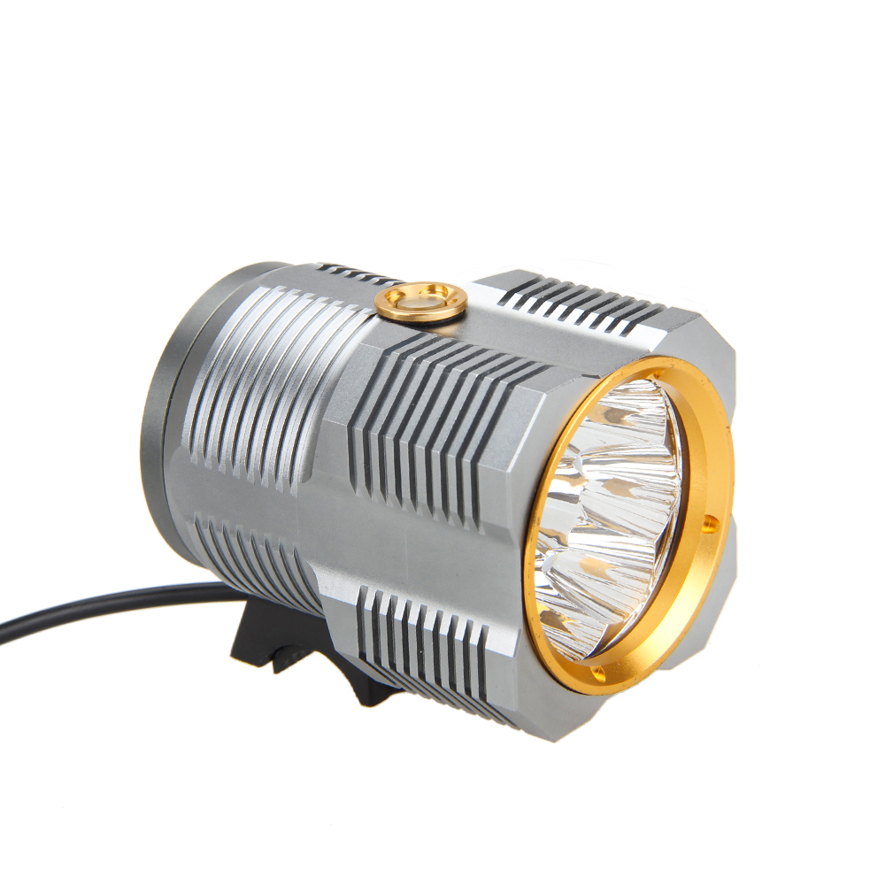 15000LM 8X CREE XM-L R8 LED Head Front Bicycle Cycling Light Bike lamp 12000mAh+Charger