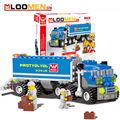 2016 New 163pcs set DIY Building Blocks Toy big truck Action Figure Deformation Toys Children Educational