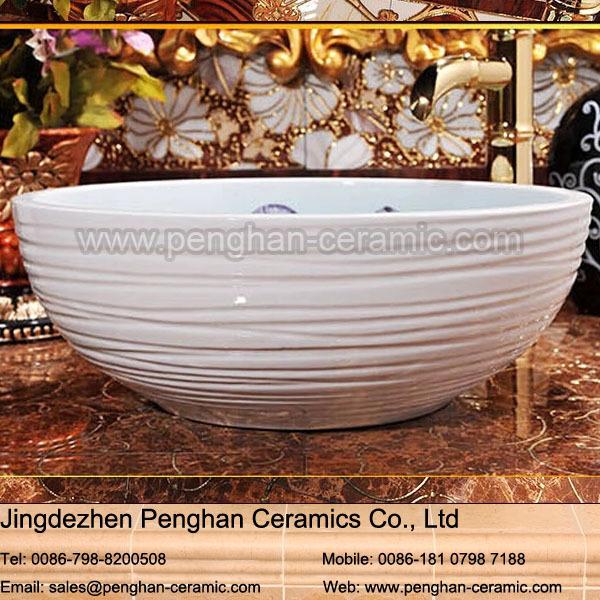 Cer mica del fregadero del lavabo del fregadero cuarto de for Fregadero ceramica