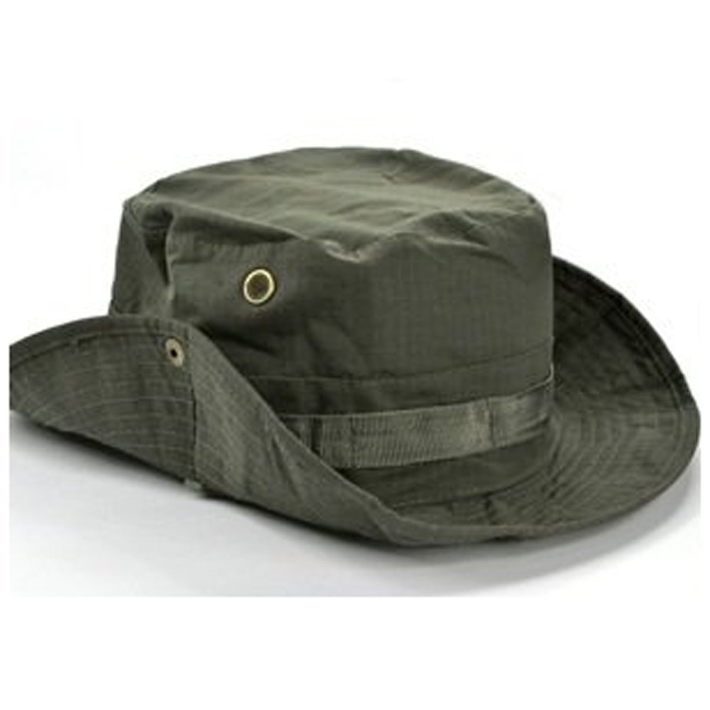 Boonie hat for men women new tactical sunshade uv for Fishing boonie hat
