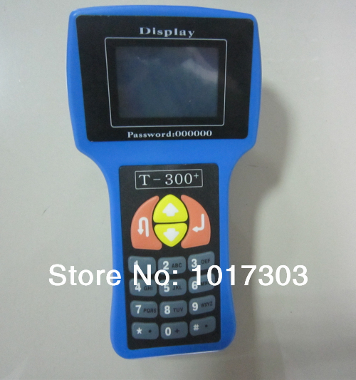 2014 HOT SELLING top rated T300 key programmer t-300 programmer read IMMO/ECU T300 key Enlish/Spanish in stock(China (Mainland))